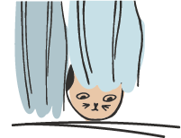 gatto ansioso
