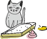 gatto bisogno fuori lettiera